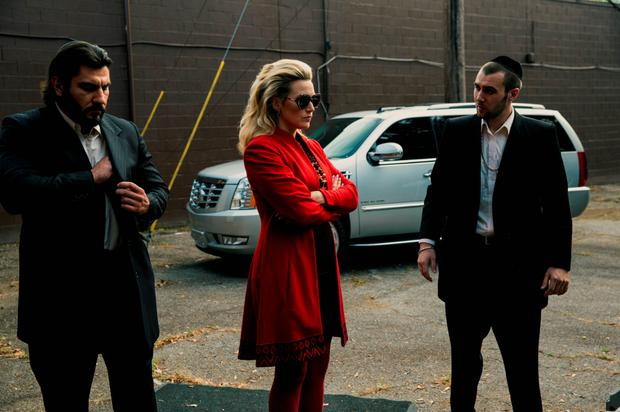 Bank job: Kate Winslet shines in heist thriller 'Triple 9'.