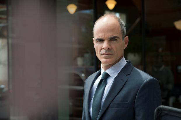Loyal: Michael Kelly as White House Chief of Staff Doug Stamper in 'House of Cards'.