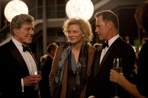 'Partisan': Robert Redford, Cate Blanchett and Bruce Greenwood star in 'Truth'.