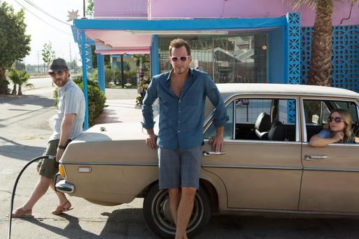 New comedy Flaked revolves around Chip (Will Arnett), a habitual liar struggling to maintain his sobriety. Irish actress Ruth Kearney (right) also stars.