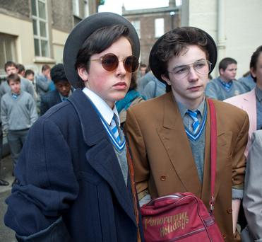 Newcomers: Ferdia Walsh-Peelo and Mark McKenna star in John Carney's 'Sing Street'