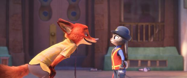 Noir thriller: 'Zootropolis' is fun for all the family.