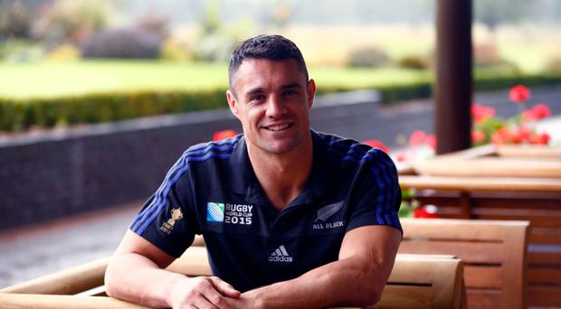 Dan Carter: as soon as he could walk, a rugby ball was put in his hands.