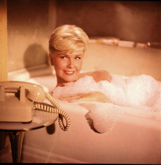 Squeaky clean: Doris Day in the 1959 film Pillow Talk.