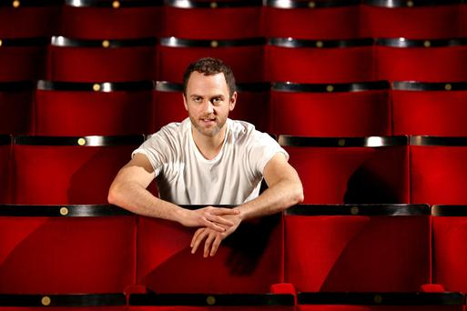Mark Huberman will be treading the boards at the Gate Theatre from April 28. Photo: Gerry Mooney.