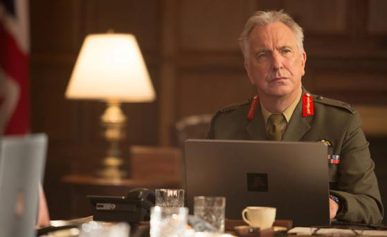 Relevance: 'Eye in the Sky' was Alan Rickman's last role.