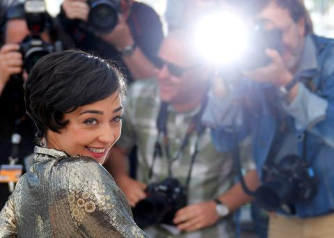 Red carpet: Ruth Negga poses during a photocall for the film Loving in competition at the 69th Cannes Film Festival