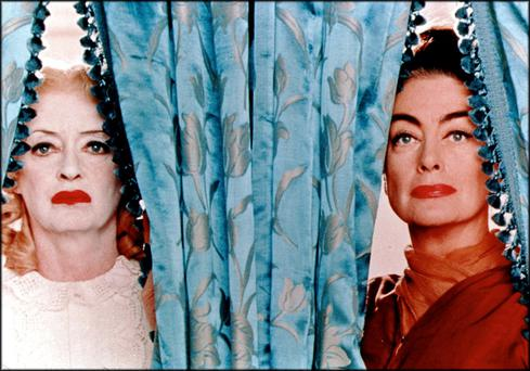 Real-life bitter rivals Bette Davis and Joan Crawford in Whatever Happened to Baby Jane?