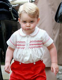 Fashion trend-setter: Prince George
