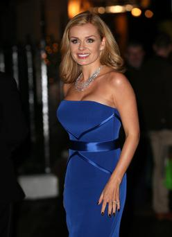Katherine Jenkins at the annual Tusk Trust Conservation awards at Claridge's Hotel in London last November.