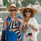 Joanna Lumley and Jennifer Saunders in 'Absolutely Fabulous: The Movie'.