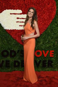 Cameron Russell attends the 'God's Love We Deliver' Golden Heart Awards in New York City. Photo: Dimitrios Kambouris/Getty