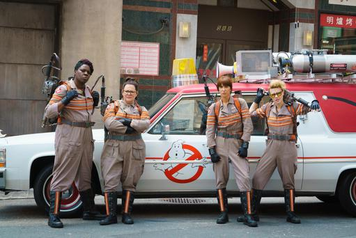 Reboot: The all-female 'Ghostbusters' cast have proved naysayers wrong. From left: Leslie Jones, Melissa McCarthy, Kristen Wiig and Kate McKinnon.