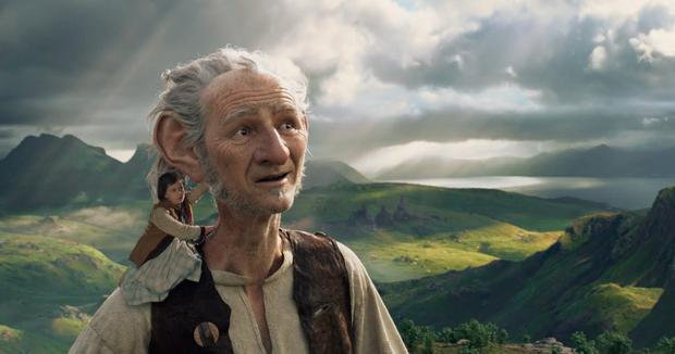 Giant undertaking: Mark Rylance and Ruby Barnhill star in The BFG.