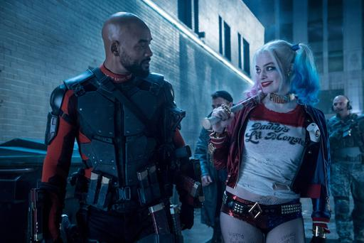 Squad goals: Will Smith and Margot Robbie in Suicide Squad