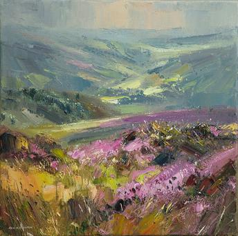 August Moors near Hathersage by Rex Preston