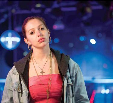 Intense: Seána Kerslake plays Mary ­McArdle, a young lady with issues, in new Irish film A Date for Mad Mary