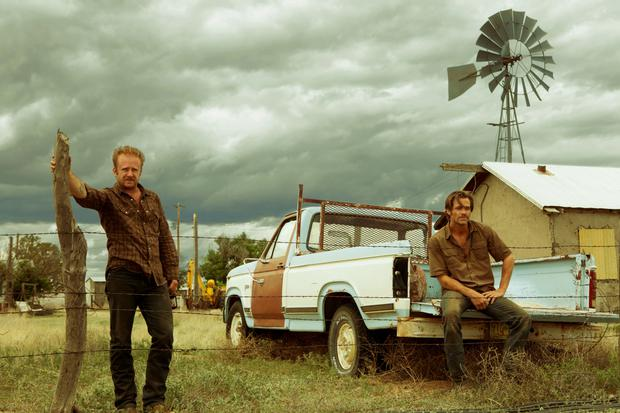 You want me?: Ben Foster and Chris Pine are outlaw brothers in 'Hell or High Water'