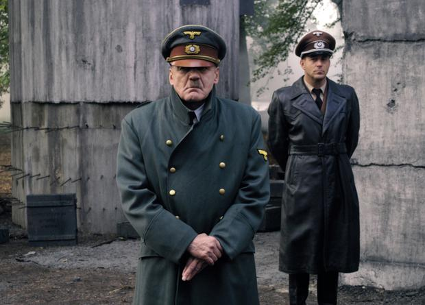 Bruno Ganz as the most famous Nazi of all in Downfall.