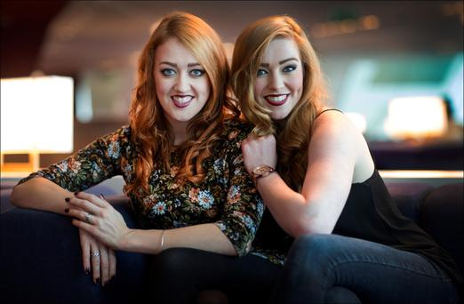 Amy and Leah Penston will shortly perform in The Commitments. Photo: David Conachy
