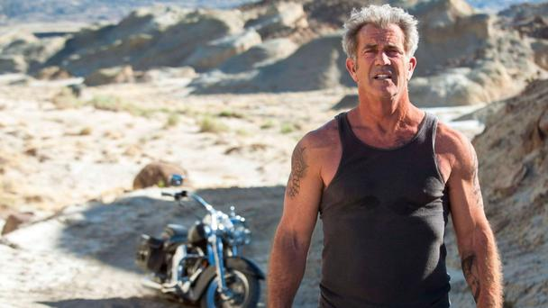Beefed-up: Gibson makes his big-screen action hero return with Blood Father