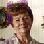 Jean Alexander as soap star Hilda Ogden