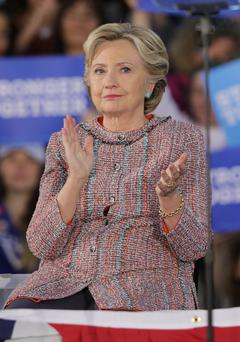 Hillary Clinton can't win - too stern, and she's seen as bossy and grumpy; too smiley, and she's false or weak