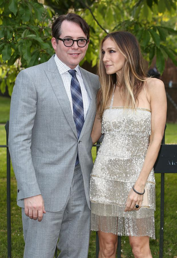 Golden couple: Sarah Jessica Parker and her husband Matthew Broderick are together nearly 25 years