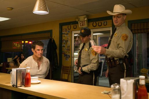 Action: Tom Cruise proves he's tough enough to play Jack Reacher in 'Never Go Back'