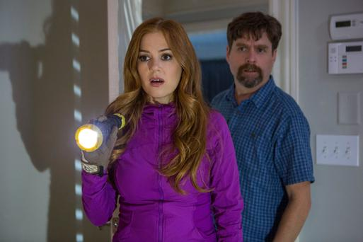 Nosey neighbours: Isla Fisher and Zak Galifianakas star in 'Keeping up with the Joneses'