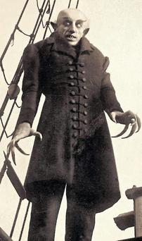Count Orlok from the classic 1922 horror film Nosferatu