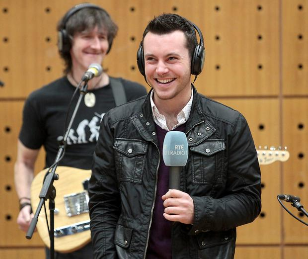 Show time: Nathan Carter recording at RTÉ
