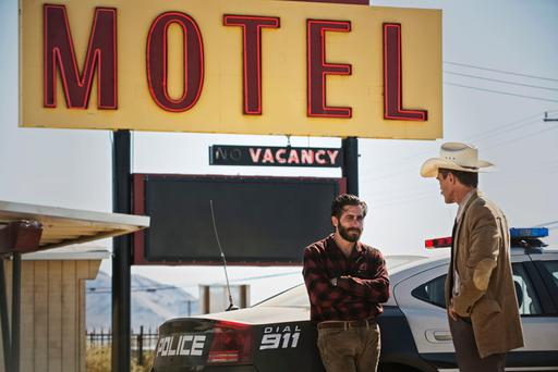 Feast for the eyes: Jake Gyllenhaal and Michael Shannon star in Tom Ford's 'Nocturnal Animals'