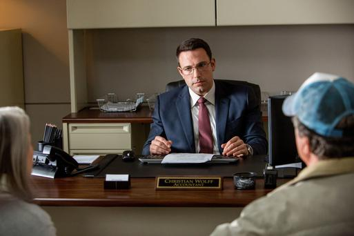 Silly: Ben Affleck is on a mission in 'The Accountant'