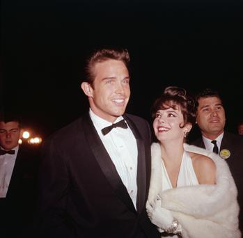 Heartbreaker: Warren Beatty with Natalie Wood in 1962