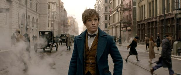 Other world: Eddie Redmayne is Newt Scamander in 'Fantastic Beasts and Where to Find Them'