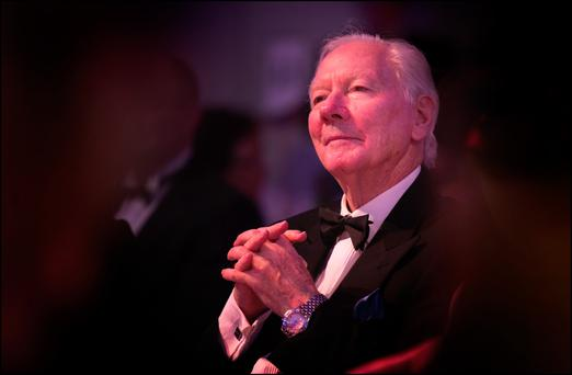 'My turn': Veteran broadcaster Gay Byrne revealed on his radio show at the weekend that his doctors fear he may have cancer Photo: David Conachy