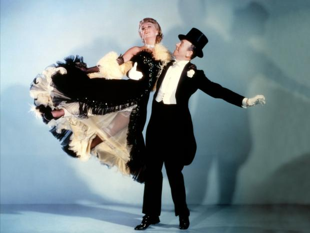 Double act: Ginger Rogers and Fred Astaire in The Barkleys of Broadway