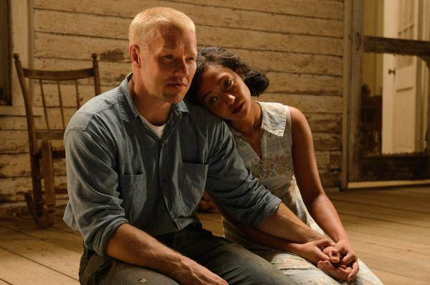 Stars: Ruth Negga and Joel Edgerton as Richard and Mildred Loving