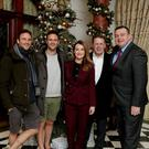 The Happy Pear pair twins Stephen and David Flynn at the Renault Ambassadors Christmas party hosted by Irish operations manager Paddy Magee and attended by Today FM colleagues Mairéad Ronan and Ian Dempsey
