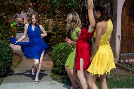 Perfectly tuned: La La Land, starring Emma Stone, is filled with delightful musical numbers