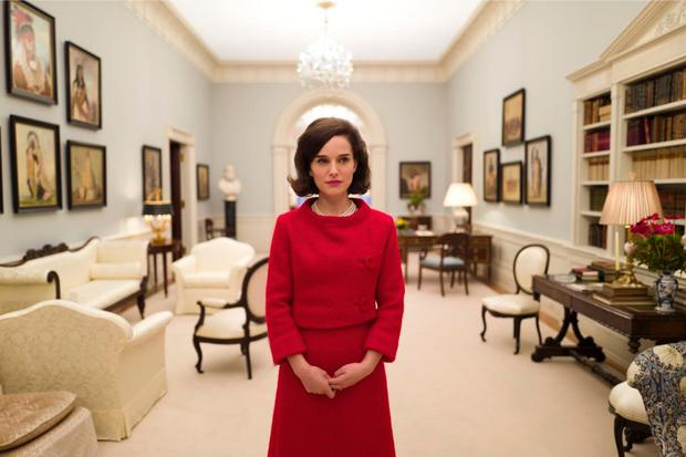 Poetic licence: Natalie Portman as Jackie Kennedy in the new biopic