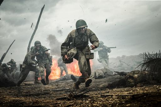 Risking life and limb: Hacksaw Ridge starring Andrew Garfield is based on a true story