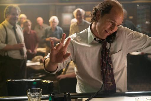Going baldly: McConaughey undergoes a physical transformation in Gold