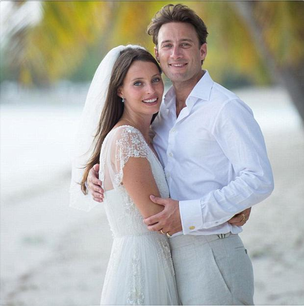 Ella and Mathew Mills got married last summer on the island of Mustique