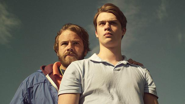 Centrepiece: Moe Dunford and Nicholas Galitzine in Handsome Devil