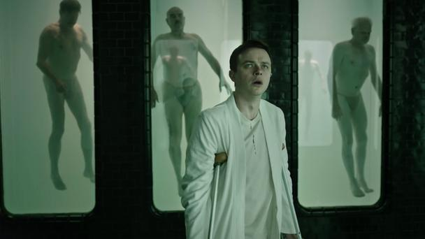 Look behind you: Dane DeHaan is perfectly cast as Lockhart in A Cure for Wellness