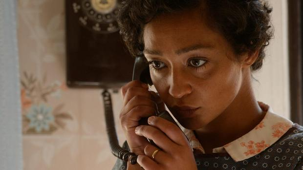 Irish actress Ruth Negga in Loving