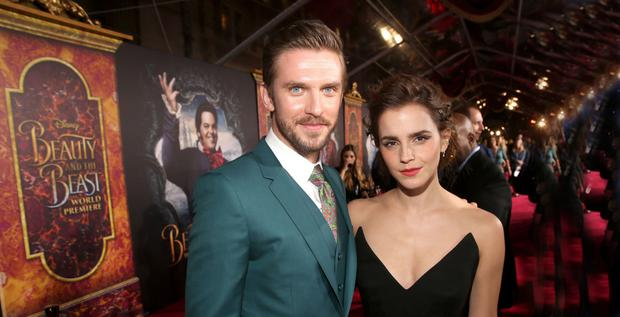 THE ODD COUPLE Dan Stevens and Emma Watson star in Disney's new'Beauty and the Beast