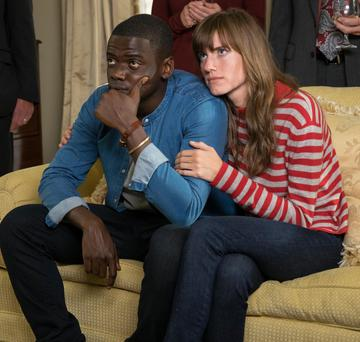 Spooky goings-on: Daniel Kaluuya and Allison Williams star in comedy horror flick Get Out